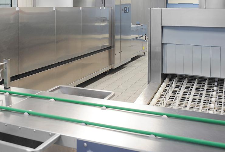 speisenverteilung | spülsysteme | systemlieferant - stierlen gmbh - Geschirrspüler Großküche